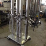 Stainless Steel Pizza Carts